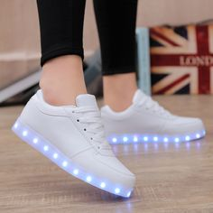 women tenis led light up shoes Lovers tenis com led light up hot for adults  hot with lights for adults shoes 2017