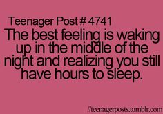 But then you lay down and your alarm goes off after what feels like 5 minutes :P