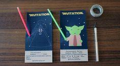 L'anniversaire Star Wars : l'invitation