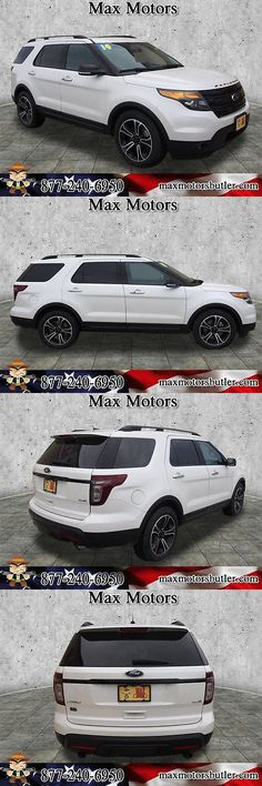 SUVs: 2014 Ford Explorer Sport 2014 Ford Explorer Sport 64519 Miles Oxford White Suv 3.5L V6 Automatic 6-Speed BUY IT NOW ONLY: $28876.0