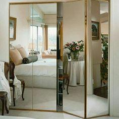 Closet Mirror with Lights . Closet Mirror with Lights . Full Length Mirror Closet, Bedroom Closet Doors, Mirror Closet Doors, Sliding Closet Doors, Mirror Door, Closet Dresser, Mirror Panels, Organizing Walk In Closet, Closet Organization