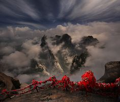 Huashan Mt., Xian , China by Weerapong Chaipuck on 500px