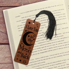 Engraved Rawhide Leather Bookmark 3rd Anniversary Gift 3rd Wedding Anniversary Gift Ideas, Third Anniversary, Leather Bookmark, Gifts For Him, Wedding Gifts, Romantic, Art, Third Birthday, Wedding Day Gifts