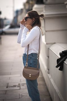 Classic combo. White top & jeans. #AsSeenOnMe