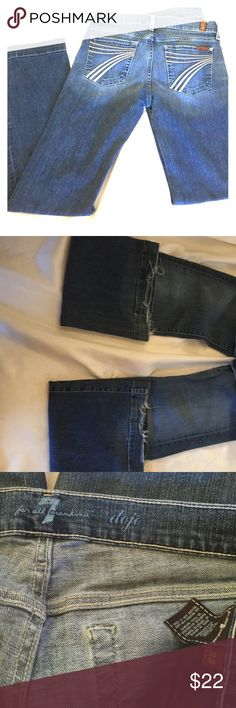 destin coach outlet apas  Seven for all mankind size 28 small flare