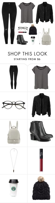 """""""Untitled #824"""" by patrisha175 ❤ liked on Polyvore featuring River Island, MANGO, LE3NO, MICHAEL Michael Kors, Alexander Wang, Forever 21, NARS Cosmetics and H&M"""