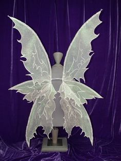 PATTERN and tutorial for fairy wings Kalypso Large Fairy Costume Diy, Fairy Wings Costume, Fairy Cosplay, Diy Costumes, Forest Fairy Costume, Cosplay Wings, Adult Fairy Wings, Diy Fairy Wings, Diy Wings