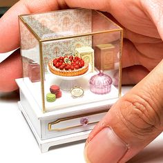 2018.03 Miniature Cherry Pie Dollhouse ♡ ♡ By Ishibashi electronics