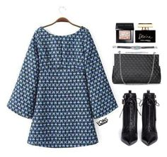 """""""Yoins 2:11"""" by mycherryblossom ❤ liked on Polyvore featuring Sergio Rossi, Bobbi Brown Cosmetics and Dolce&Gabbana"""