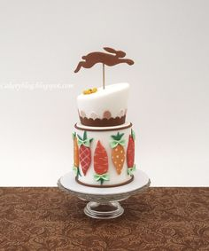 Cakeryblog: Easter Bunny, Eggs and Carrots