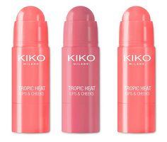 Kiko Milano Tropic Heat Lips & Cheeks Summer 2017