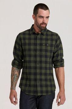 1913 Check Shirt - Green #barkers #swanndri