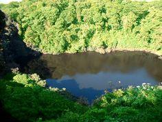 Beautiful lake at Barva Volcano