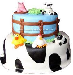 farm cake ideas