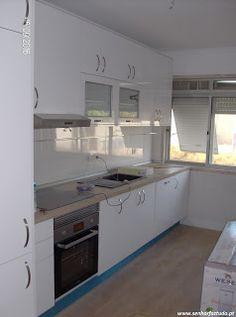 SENHOR FAZ TUDO - Faz tudo pelo seu lar !®: Remodelação da cozinha do apartamento na Damaia