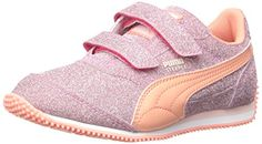 PUMA Steeple Glitz Aog V Kids Sparkle Sneaker (Toddler/Little Kid) * Details can be found by clicking on the image.