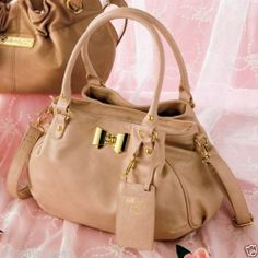 Hello Kitty Gold Ribbon Shoulder BAG Handbag Tote Purse Pouch Sanrio From Japan | eBay