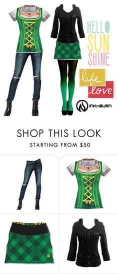 """Live Love Ink"" by skirtthenorm on Polyvore featuring rag & bone/JEAN, women's clothing, women, female, woman, misses, juniors and INKnBURN"