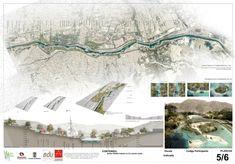 Proposal by ER5. Ctrl G Estudio de Arquitectura SAS + Andrés Perea - María Teresa Arenillas, Francisco Javier González, Manuel Vega-Leal.** Colombia +Spain. Click above to see larger image.