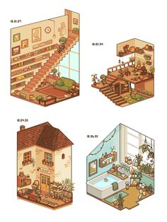 "カイエ on Twitter: ""#2018年自分が選ぶ今年上半期の4枚  植物の描き方が少し変わった… "" Isometric Art, Isometric Design, Bg Design, Game Design, Faire Du Pixel Art, 8bit Art, Pixel Art Games, Environment Concept Art, Kawaii Art"