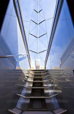 S/Y Vertigo - 230 ft megayacht by Alloy Yachts - amazing interior & exterior design Luxury Yacht Interior, Luxury Yachts, Yacht Design, Boat Design, Ibiza, Yacht Builders, Yacht Boat, Yacht Club, Float Your Boat