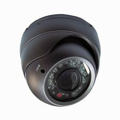 Nieuwe versie, nu met Sony Effio CCD en 700TV lijnen!  Scherpte en zoom functie aan buitenkant afstelbaar! Hoge Resolutie IR Dome. 2.8 ~12mm varifocale lens, heeft een kijkhoek van 28 ~ 101 graden. Meer info: onlinecamerashop.nl