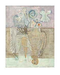 Mark Rothko - Hierarchical Birds, 1944 - Art Prints from the National Gallery of Art