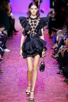 Женская мода: Неделя моды в Париже: Elie Saab, весна-лето 2017
