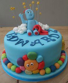 Edwards iggle piggle cake | Flickr - Photo Sharing! Birthday Cakes For Men, Cakes For Boys, Men Birthday, Girl First Birthday, Boy Birthday Parties, Garden Cakes, Garden Birthday, Novelty Cakes, Sweet Cakes