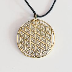Flower of Life Pendant - Sacred Geometry- Festival Jewelry - Yoga Jewelry- Yogi Jewelry -Brass, White Brass - Feather Tribe Spiritual Jewelry, Yoga Jewelry, Flower Of Life Symbol, Pearl Flower, Sacred Geometry, Silver Color, Handcrafted Jewelry, Jewelry Crafts, Copper