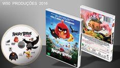 Angry Birds - O Filme - DVD 1 - ➨ Vitrine - Galeria De Capas - MundoNet | Capas & Labels Customizados