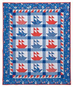 This would be a great design for the quilt I'm planning to make for the camper.