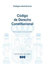 Código de derecho constitucional. - Madrid : Boletín Oficial del Estado, D.L. 2015