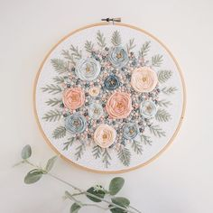 Wonderful Ribbon Embroidery Flowers by Hand Ideas. Enchanting Ribbon Embroidery Flowers by Hand Ideas. Floral Embroidery Patterns, Simple Embroidery, Machine Embroidery Patterns, Silk Ribbon Embroidery, Modern Embroidery, Embroidery Hoop Art, Hand Embroidery Designs, Vintage Embroidery, Embroidery Stitches