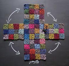 Free Crochet Bag Patterns Part 14 - Beautiful Crochet Patterns and Knitting Patterns Purse Patterns, Knitting Patterns, Crochet Patterns, Crochet Handbags, Crochet Purses, Free Crochet Bag, Knit Crochet, Crochet Bags, Crochet Squares