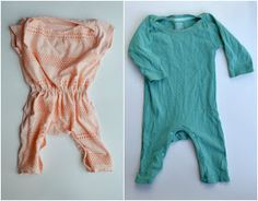 Feather's Flights: A Sewing Blog: FREE PATTERN: Baby Romper From Adult T-Shirt