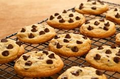 Sweet but Sugarless Chocolate Chip Cookies. Who can resist a chocolate chip cookie? You won't even need to try with this recipe using SugarLeaf™! Click image for the full recipe. Sugar Free Chocolate Chip Cookie Recipe, Sugar Free Cookies, Chocolate Chip Recipes, Sugar Free Desserts, Sugar Free Recipes, Cookie Recipes, Dessert Recipes, Baking Cookies, Cookies Soft