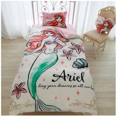 Elegant Water Color Inspired Disney Bedding Fit for a Princess