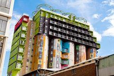 7 extremt coola hus (grunden är en vanlig bygg-container) - Sköna hem