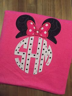 A personal favorite from my Etsy shop https://www.etsy.com/listing/454597938/minnie-mouse-topper-with-monogram