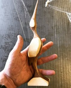 Beautiful wooden bird Teak Maple