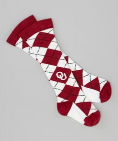 Oklahoma Sooners Thigh-High Socks - Kids by Little Big Fan