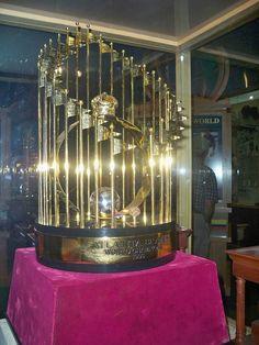 1995 World Series Trophy!  Braves Museum - Turner Field  Beautiful sight, isn't it?