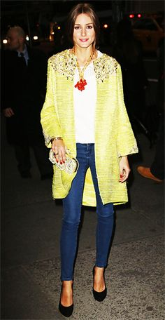 InStyle.com What's Right Now: Every Outfit Olivia Palermo Wore to Fashion Week in One Easy Place - Photo Gallery Image 1