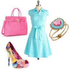 Sweets For My Sweet by jessica-shoelover on Polyvore #styleitfab