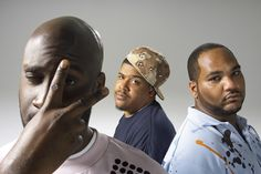 """""""De La Soul is an American hip hop trio formed in 1987 on Long Island, New York.[2] The band is best known for their eclectic sampling, quirky lyrics, and their contributions to the evolution of the jazz rap and alternative hip hop subgenres. The members are Kelvin Mercer, David Jude Jolicoeur and Vincent Mason, known under a variety of nicknames."""" - Wikipedia.org"""