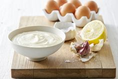 And finally, for a creamy addition to your fries, try our delicious garlic aioli.