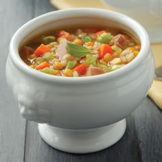 Our warming soups provide big flavor and hefty nutritional benefits for slimming yet satisfying meals all winter long.