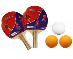 Transval Masa Tenisi Raket Seti 2 Raket 3 Top - Masa tenisi oynamak için ihtiyacınız olan ekipmanları içeren set  2 x Enjoy Masa tenisi raketi  3 x masa tenisi topu - Price : TL10.00. Buy now at http://www.teleplus.com.tr/index.php/transval-masa-tenisi-raket-seti-2-raket-3-top.html