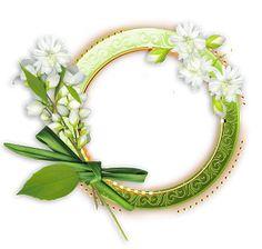 Marcos Florales para Fotos - Formato PNG - Gratis! - Marcos Gratis Para Fotos
